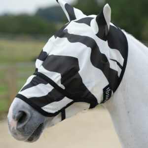 Bucas Buzz-Off Fliegenmaske Zebra